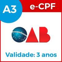 e-cpf-a3-3anos-oab