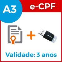 e-cpf-a3-3anos-token